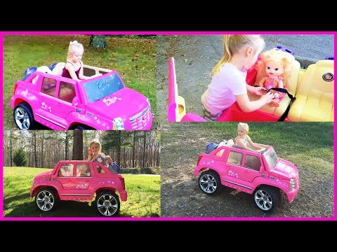Playing in the Park on the Pirate Ship Playground for Kids Baby Alive Snackin Sara Doll Compilation