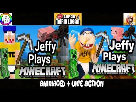 SML Movie: Jeffy Plays Minecraft! Animated + Live Action
