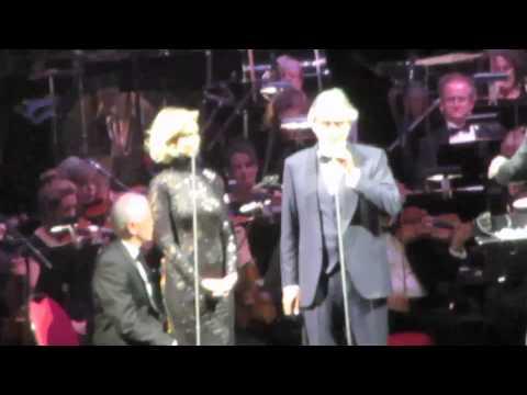 DELTA GOODREM AND ANDREA BOCELLI @ Sydney Concert 2014