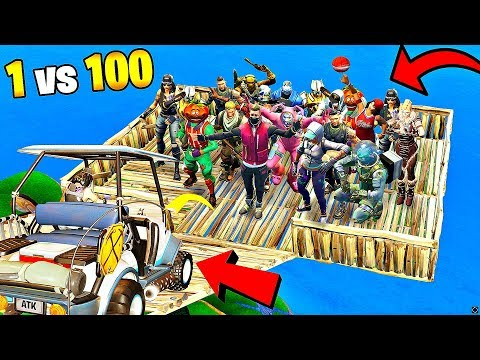 1 GOLF CART vs 100 PLAYERS..! - TOP 200 FUNNIEST FAILS & WINS IN FORTNITE - EXPECTATIONS vs REALITY