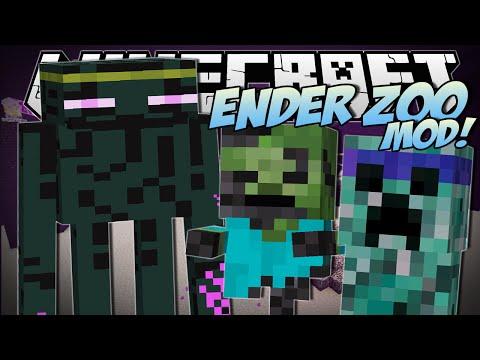 Minecraft | ENDER ZOO MOD (Undead Warriors, Enderminys & More!) | Mod Showcase