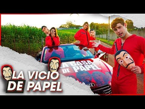 LA VÍCIO DE PAPEL | PARÓDIA LA CASA DE PAPEL