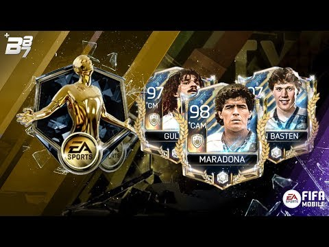 INSANE PRIME ICON IN A PACK! PROGRAM PLAYER PACKS!   FIFA MOBILE