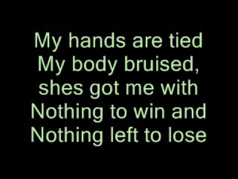 U2 - With or Without you - lyrics