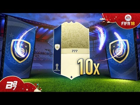 10X GUARANTEED WORLD CUP ICON PACKS! INSANE ICON SQUAD BUILDING CHALLENGE!   FIFA 18 WORLD CUP