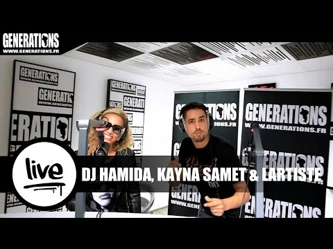 DJ Hamida, Kayna Samet & Lartiste - Déconnecté (Live des Studios de Generations)