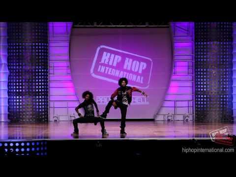 LES TWINS - France | Performance @ HHI's 2012 World Hip Hop Dance Championship