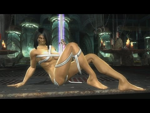 "Mortal Kombat 9 Komplete Edition - Jade ""Stripper Pole"" Victory Pose *All Females/Costumes* MOD (HD)"