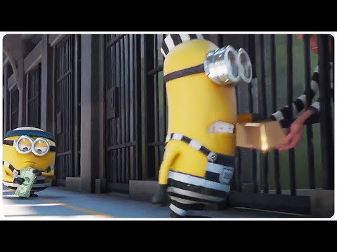 "Despicable Me 3 ""Minions In Prison"" Movie Clip (2017) Minions Animated Movie HD"