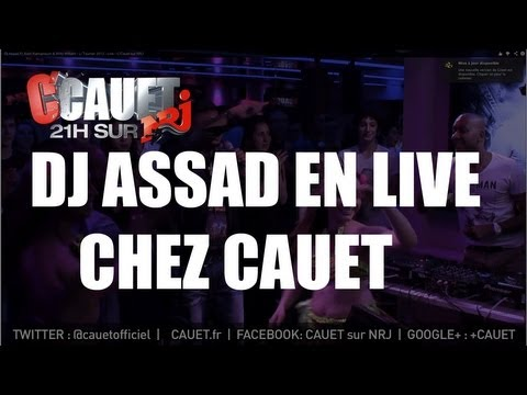 Dj Assad Ft Alain Ramanisum & Willy William - Li Tourner 2013 - Live - C'Cauet sur NRJ
