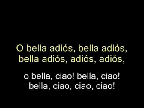 Bella Ciao (Subtitulada)