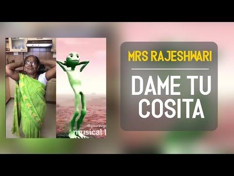Mrs Rajeshwari | Dame Tu Cosita |  Musically compilation