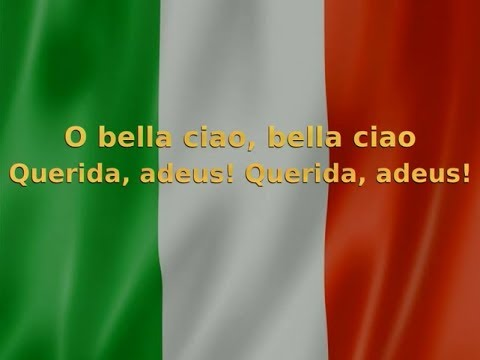 La Casa de Papel - Bella Ciao - Versão original da música (Letra + Tradução em Português)
