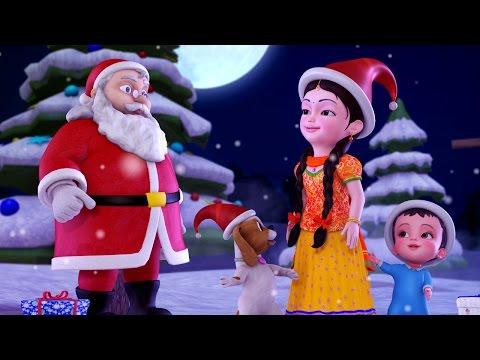Jingle Bells Christmas Songs for Kids | Hindi Rhymes for Children | Infobells
