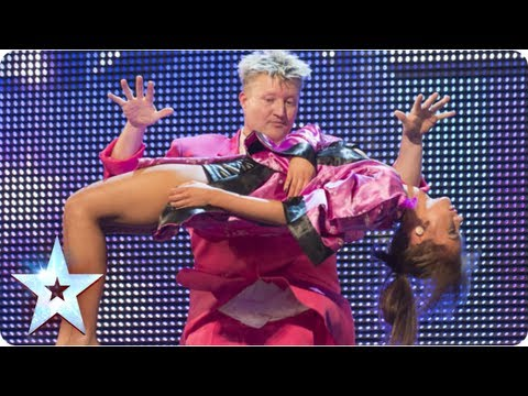 Stevie Pink master illusionist takes to the stage | Week 6 Auditions  | Britain's Got Talent 2013