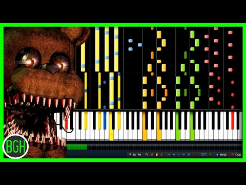 """IMPOSSIBLE REMIX - """"Break My Mind"""" DAGames (Five Nights at Freddy's 4)"""
