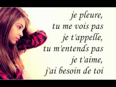 Caroline Costa - Comment vivre sans toi Paroles/Lyrics