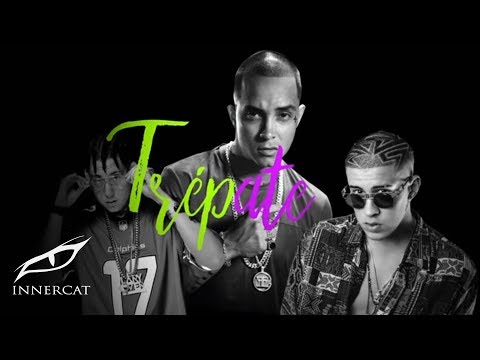 Sixto Rein Ft. Bad Bunny & Lary Over - Trepate [Official Lyric Video]