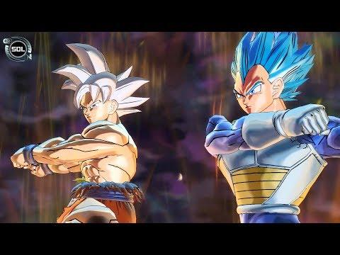 NEW FUSION: Goku UI and Vegeta Beyond SSB VS Zen-Oh Fusion - Dragon Ball Super Xenoverse 2 MOD