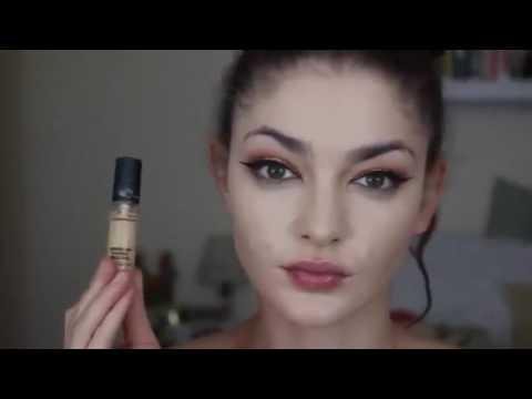 Easy Eyes n' Face Makeup Tutorial _ ft. Vanity Planet Makeup Brushes tutorial-2
