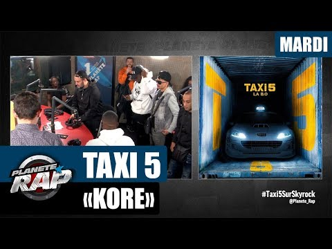"Planète Rap - Taxi 5 ""Kore, Vegedream, Naza & Kazmi"" #Mardi"